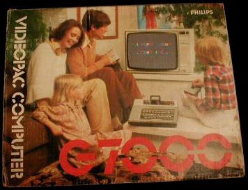 De verpakking van de Videopac G7000.